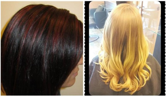 Behind The Chair Balayage How To Blond Brown Hair Color