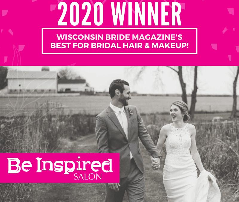 Named 2020 Best For Bridal Hair